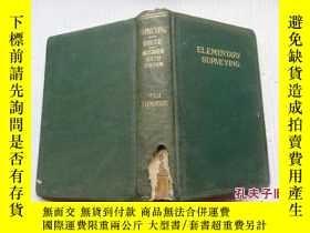 二手書博民逛書店ELEMENTARY罕見SURVEYING (精裝 1931年)