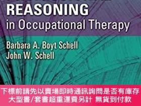 二手書博民逛書店Clinical罕見and Professional Reasoning in Occupational Ther