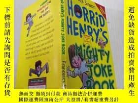 二手書博民逛書店Horrid罕見Henry s Mighty Joke Book :淘氣包亨利笑話書-笑話大全Y200392