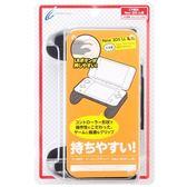 New2DSLL專用 日本 CYBER GADGET 小型超薄 多功能輔助握把 黑色款 非2DS用【玩樂小熊】