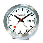 經典兩用鬧鐘 Mondaine 瑞士國鐵錶