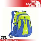 【The North Face 28L 15吋電腦背包《日光黃/海岸線》】CE85-V3E/筆電包/工作包/後背包/登山★滿額送
