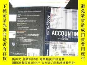 二手書博民逛書店Accounting:罕見What the Numbers MeanY167411