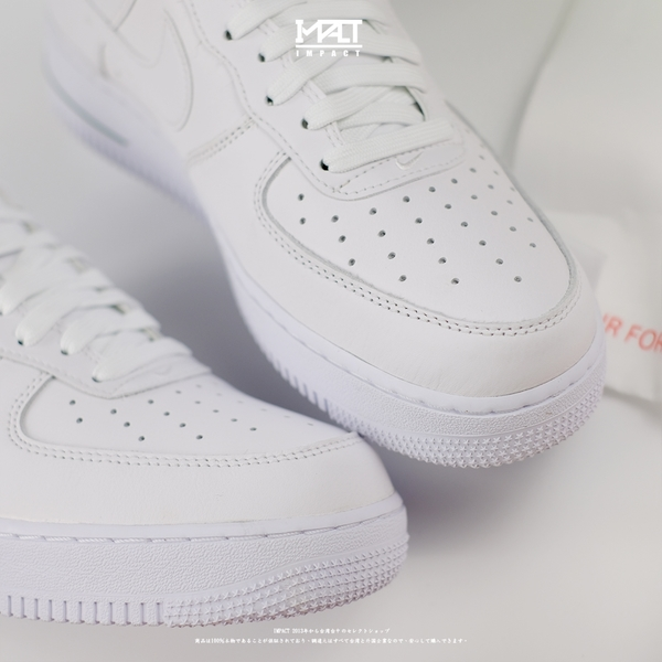 IMPACT Nike Air Force 1 Low White Rose 白 玫瑰 情人節 CU6312-100