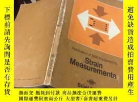 二手書博民逛書店strain罕見measurements 應變測量Y15935