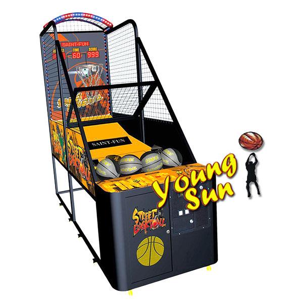 運動類 街頭籃球 (街頭籃球機系列) 投籃 打籃球 電玩機販售 活動租賃 籃球機 陽昇電玩