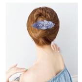 髮夾-發夾媽媽款優雅大氣花夾子頭飾發夾簡約百搭 提拉米蘇