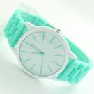 手錶 超薄日內瓦糖果色手錶 時尚男女學生情侶手錶【B9043】