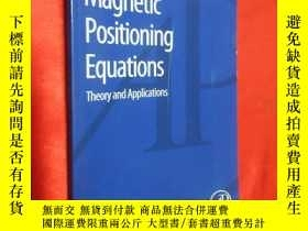 二手書博民逛書店Magnetic罕見Positioning Equations: