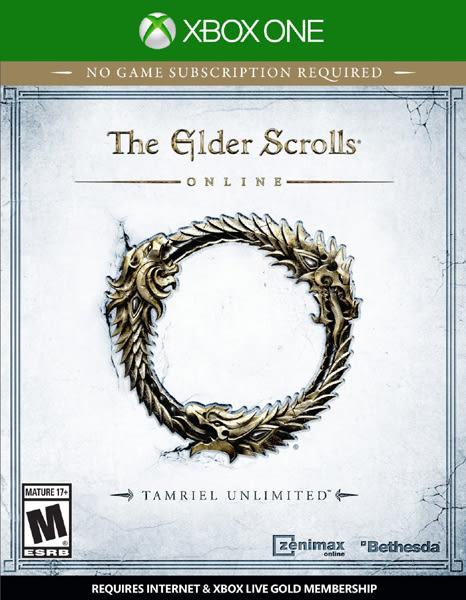 X1 Elder Scrolls Online: Tamriel Unlimited 上古卷軸 Online:泰姆瑞爾 無限(美版代購)