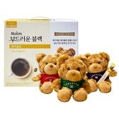 韓國 Maxim 摩卡咖啡禮盒組(2.7gx100包)贈泰迪熊(顏色隨機)【小三美日】