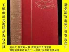 二手書博民逛書店1905年罕見英國古跡與古物手冊 232幅插圖 漆布精裝32開Y11827 George Clinch L U
