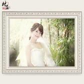 實木相框掛墻歐式7寸婚紗照相框創意擺臺畫框