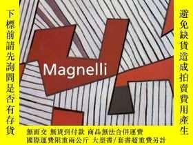 二手書博民逛書店Magnelli.罕見Centre Georges Pompid
