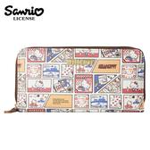 【日本正版】凱蒂貓 45周年 長夾 皮夾 錢包 Hello Kitty 三麗鷗 Sanrio - 006315