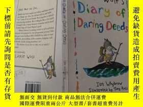 二手書博民逛書店little罕見wolf s diary of daring deeds:小狼的勇敢行為日記..Y200392