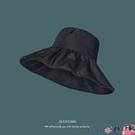 熱賣漁夫帽 日本UV遮陽帽女夏季韓版百搭大沿漁夫帽防紫外線防曬帽遮臉太陽帽 coco