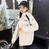 短外套女學院風春秋2018新款韓版學生bf寬松百搭工裝夾克棒球外套潮