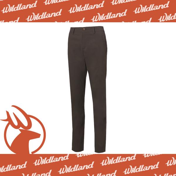 【Wildland 荒野 女 彈性透氣抗UV直筒長褲《松葉灰》】0A61305-100/抗UV/彈性/耐磨/輕薄/休閒褲★滿額送