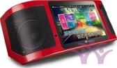 金嗓 Super Song500 多媒體行動伴唱機/卡啦OK 全配組 贈32吋液晶電視+原廠麥克風*2+10米HDMI線