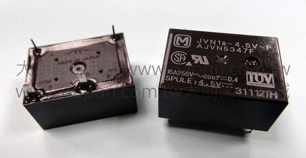 *大朋電子商城*Panasonic JVN1a-4.5V-F 繼電器Relay(5入)