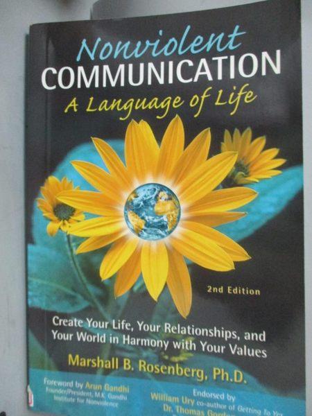 【書寶二手書T7/心理_XEL】Nonviolent Communication: A Language of Life