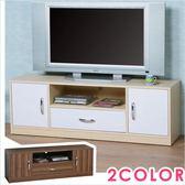 電視櫃《YoStyle》清新森林電視櫃 視聽櫃 置物櫃 書櫃 音響架 電視櫃(二色)