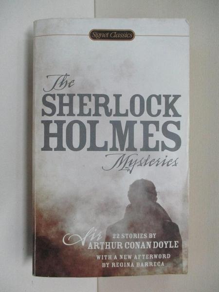 【書寶二手書T1/原文小說_C1Z】The Sherlock Holmes Mysteries: 22 Stories