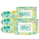 碧c嬰兒濕巾新生兒寶寶濕紙巾手口屁專用80抽5包100成人批發帶蓋 森活雜貨
