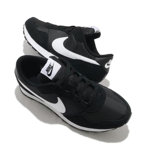 Nike 休閒鞋 MD Valiant GS 黑 白 女鞋 大童鞋 復古 基本款 運動鞋 【ACS】 CN8558-002