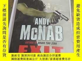 二手書博民逛書店Exit罕見Wound (ANDY McNAB) 英文原版Y14
