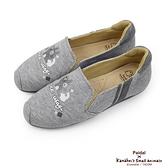 Paidal x 卡娜赫拉的小動物黑白寫真樂福鞋懶人鞋