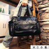 旅行袋 真皮韓版休閒男士手提包行李包