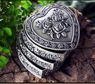 歐式韓國公主首飾盒非實木質絨布手飾品收納盒珠寶戒指盒禮物