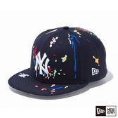 NEW ERA 59FIFTY 5950 油漆系列 調色盤 洋基 深藍 棒球帽