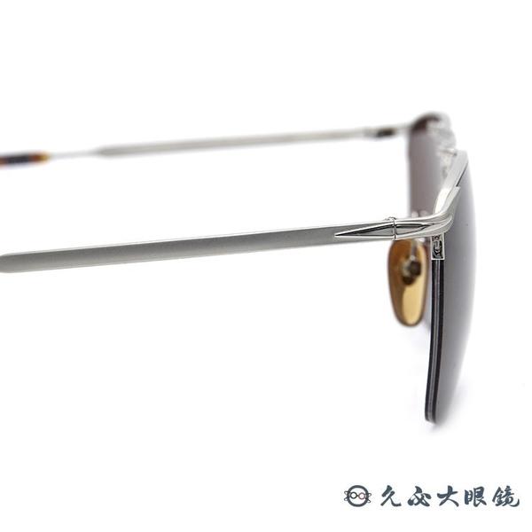 DB EYEWEAR 貝克漢設計品牌 DB 1001S (銀) 雙槓 太陽眼鏡 久必大眼鏡