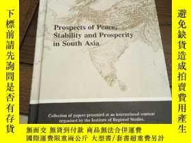 二手書博民逛書店Prospects罕見of peaces , stability and prosperity in South