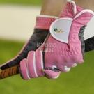 加長高爾夫手套女士雙手防曬超纖布透氣魔術貼防滑耐磨球 【快速出貨】