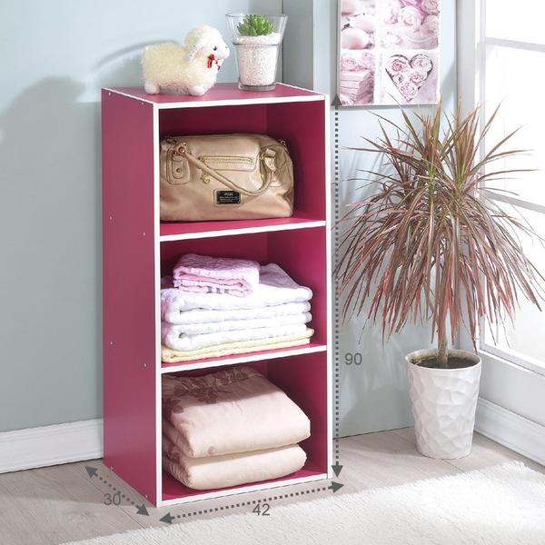 ONE HOUSE-DIY優質-三層空櫃/收納櫃/多層櫃/書架/置物櫃/高低櫃/展示櫃