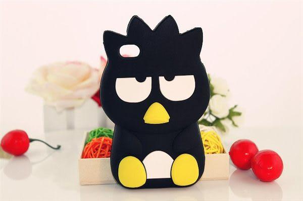 5S免運 白眼企鵝XO蘋果iphone4 4s iphone5/5S 保護殼 矽膠套