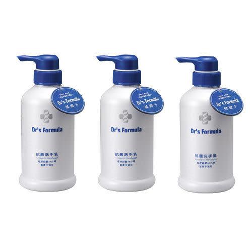 【奇買親子購物網】台塑生醫Dr s Formula 洗手乳(400ML)特惠組(3瓶)