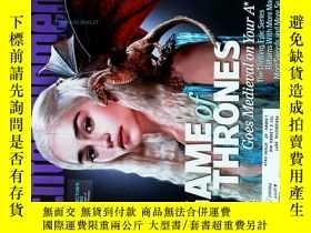 二手書博民逛書店ENTERTAINMENT罕見WEEKLY 2012 03 23 #1199娛樂周刊GAME OF THRONES