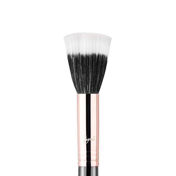 Sigma F55-SMALL DUO FIBRE COPPER(玫瑰金)【愛來客】美國Sigma授權經銷商 專業化妝刷腮紅刷
