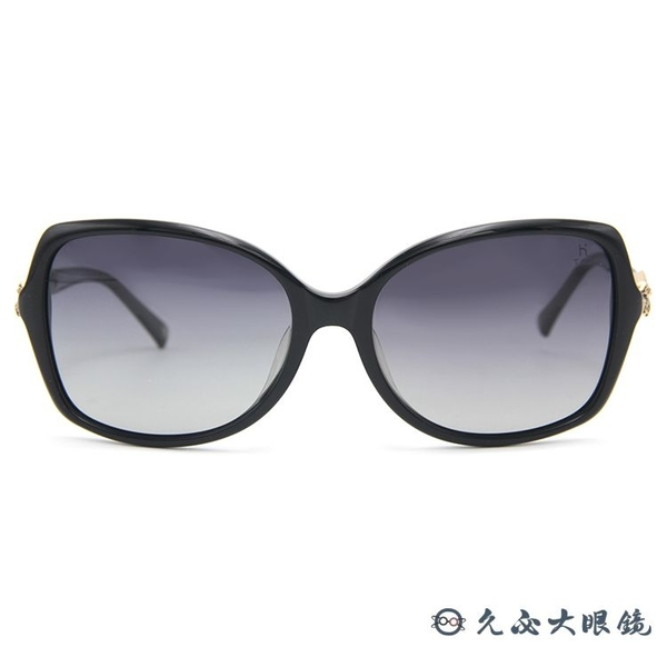 HELEN KELLER 林志玲代言 H8520 P40 (黑) 3D蝴蝶結 偏光太陽眼鏡 久必大眼鏡