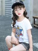 童裝女童短袖T恤新款夏裝女孩體恤寶寶純棉打底衫兒童上衣潮 Korea時尚記