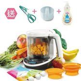 【加贈剪刀+蒸鍋+奶瓶清潔劑】美國Baby Brezza 副食品自動料理機/調理機-數位版