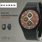 【人文行旅】SKAGEN | 北歐超薄時尚設計腕錶 806XLTBD