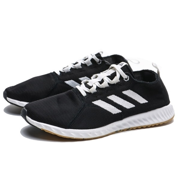 ADIDAS 慢跑鞋 EPM RUN 黑白 編織 輕量 運動 情侶鞋 男女 (布魯克林) BD7086 BD7089