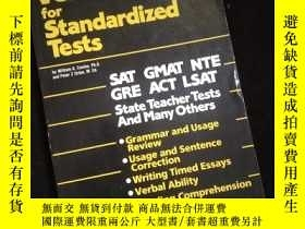 二手書博民逛書店Cliffs罕見Verbal Review for Standardized TestsY16149