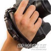 交換禮物 聖誕 時尚單反相機微單相機通用高檔手腕帶舒適經典皮腕帶手帶相機配件     時尚教主